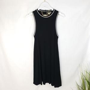 American Eagle Soft & Sexy Black Swing Dress XS